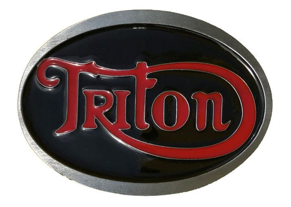Triton Belt Buckle Black Red