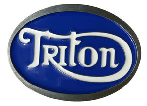 Triton Belt Buckle Blue White