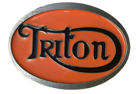 Triton Belt Buckle Orange