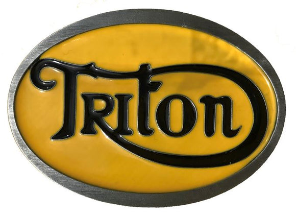 Triton Belt Buckle Yellow