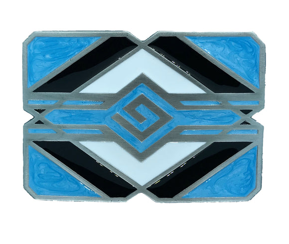 Turquoise Indian Belt Buckle
