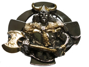 Upper Body Viking Belt Buckle