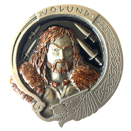 Volund Viking Belt Buckle