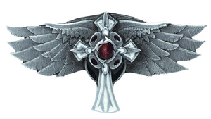 Wings and Cross Belt Buckle