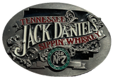 Tennessee Jack Daniels Sippin Whiskey Belt Buckle
