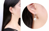 10mm Pearl Prescent Beads Earring 1512