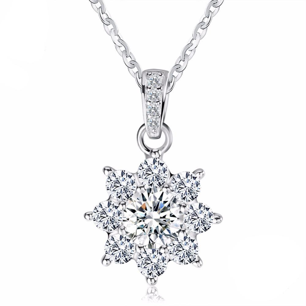 Luxury Crystal Snowflake Pendant 1514