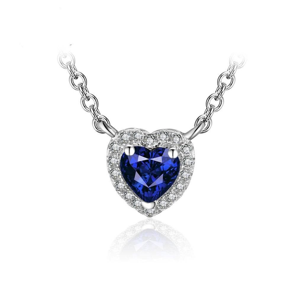 precious sapphire stone vietnam from hanoi product deep necklace royal blue
