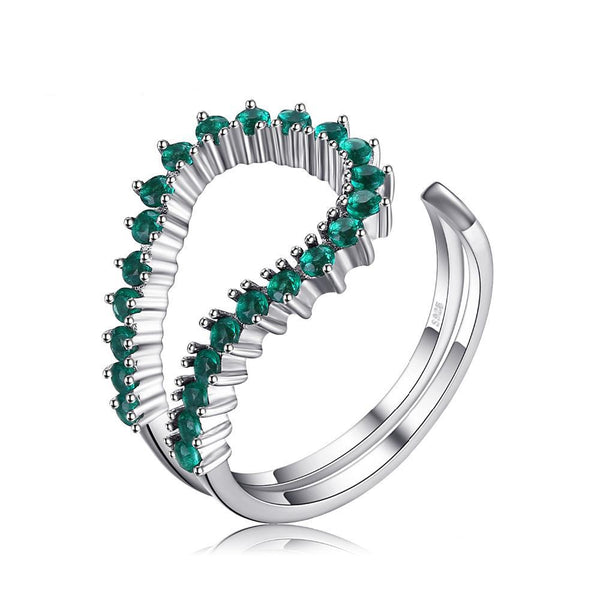 0.5ct Open Style Emerald Ring 1432