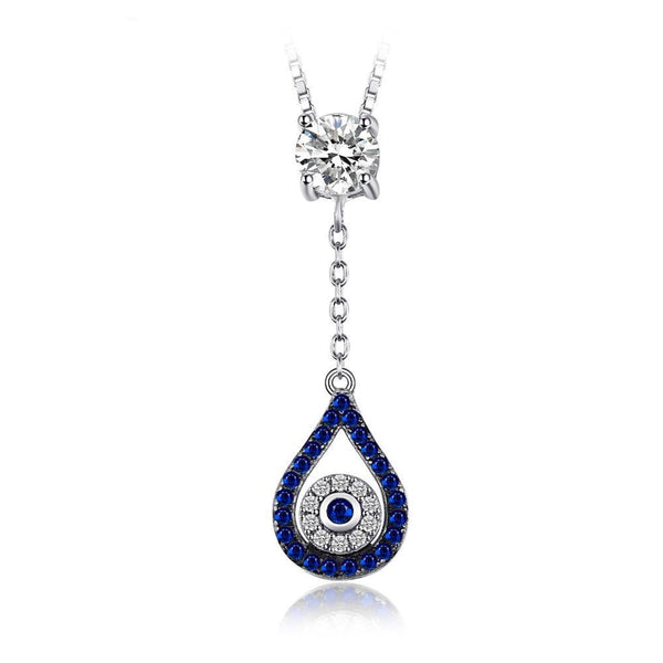 1.37ct Blue & Black Spinel Necklace 1479