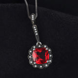 3.4ct Red Ruby Necklaces & Pendant 1465