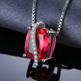 4.26ct Red Ruby Pendant - Without Chain 1456
