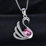 Exquisite 0.5ct Genuine Pink Topaz Pendant 1458