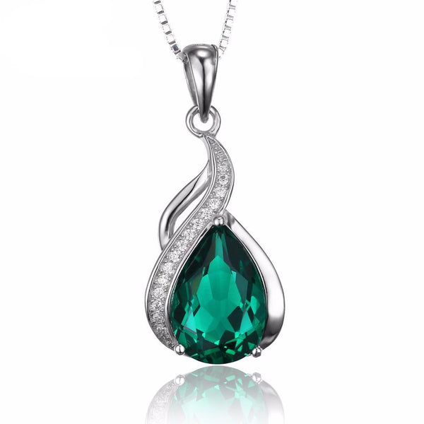 Beautiful 3.5ct Emerald Pendant - Without Chain 1574