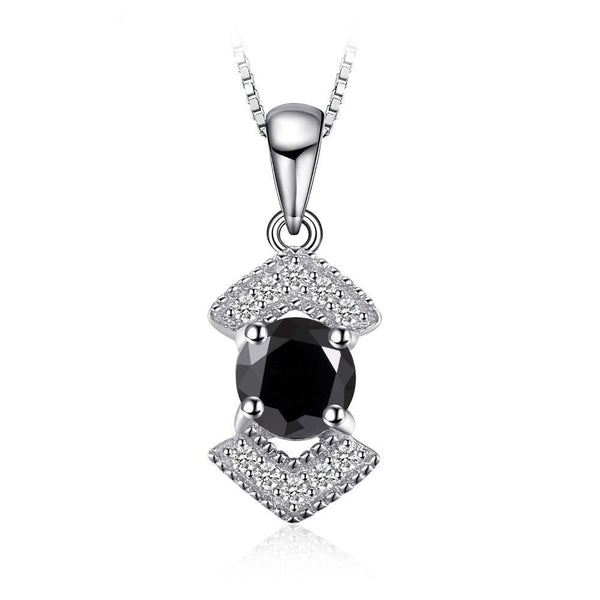 Elegant 0.67ct Black Spinel Pendant - 1536