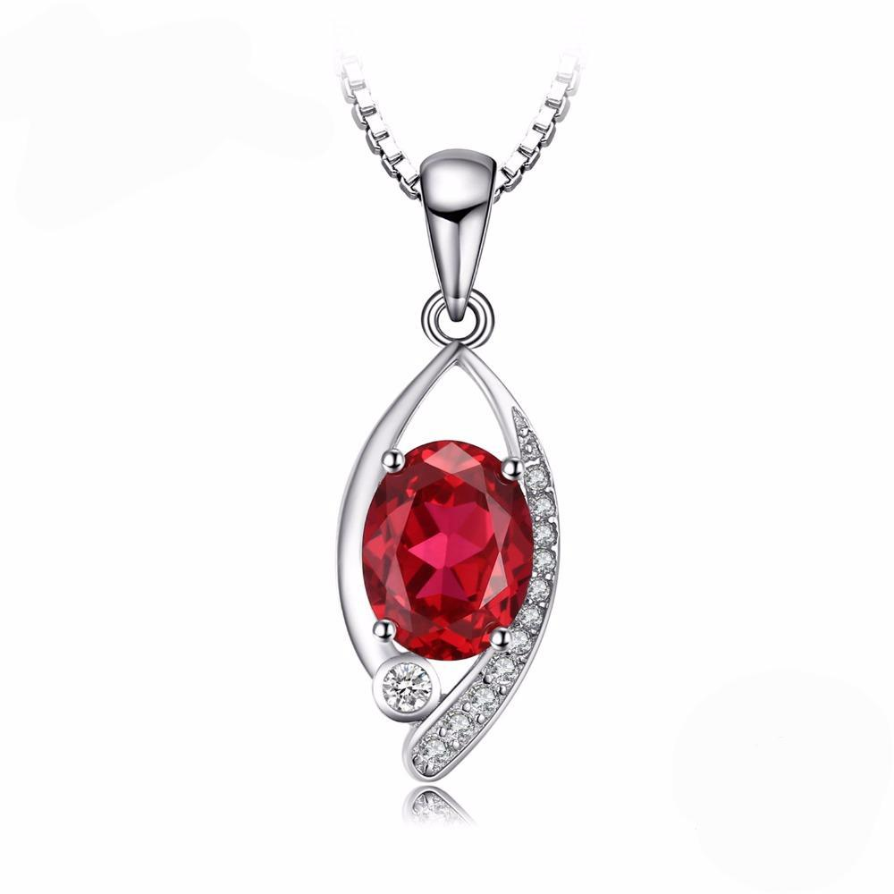 2.2ct Red Ruby Eye Pendant 1555