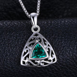 0.4ct Emerald Carved Pendant - Without Chain 1521