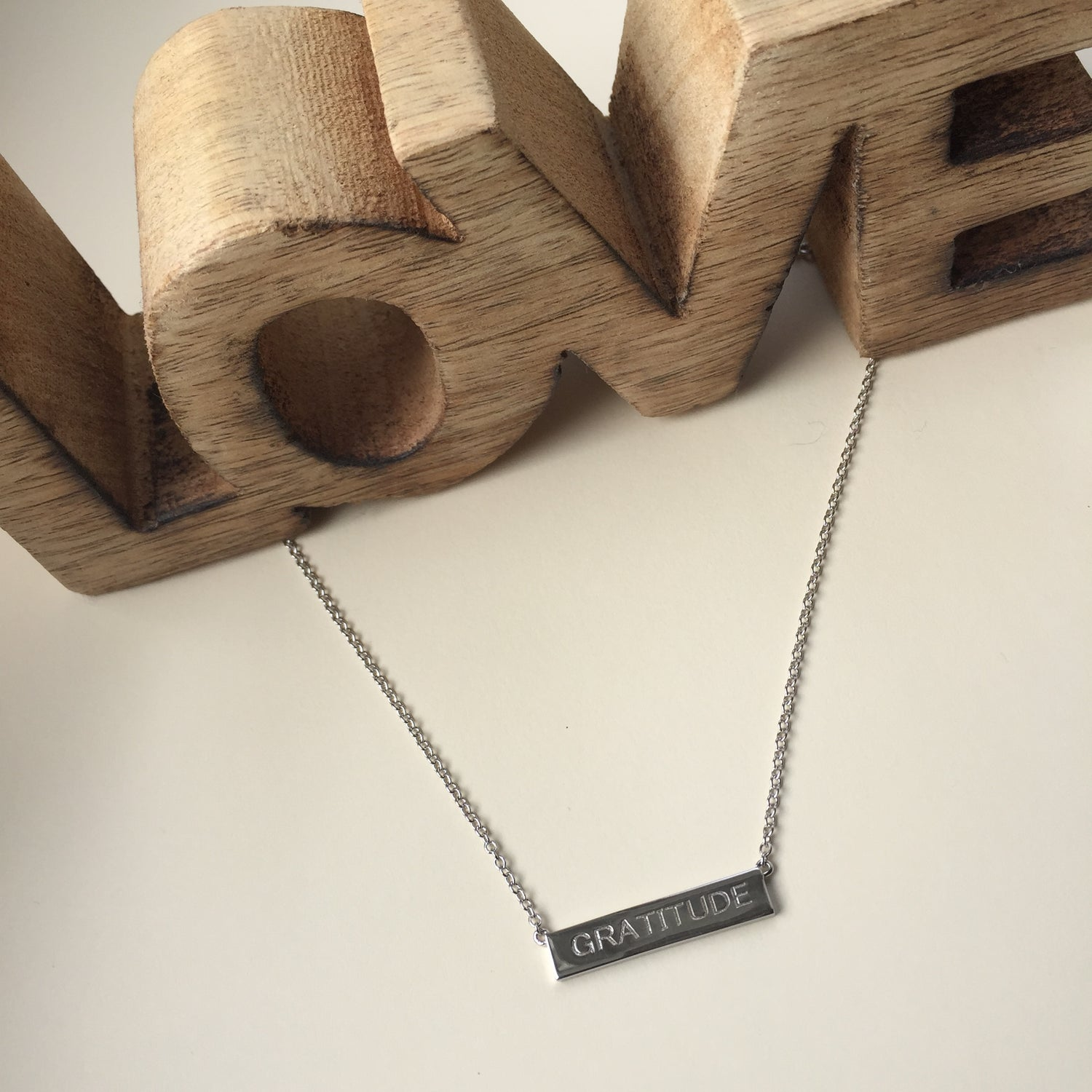 Love and Gratitude Necklace