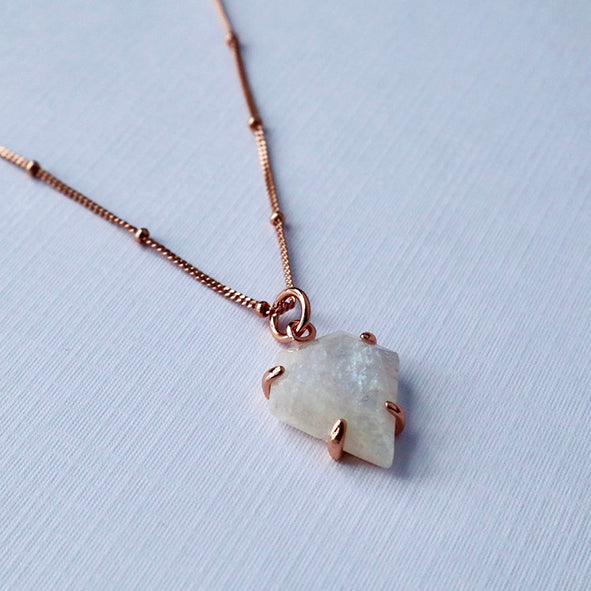 Dream Tranquility - Moonstone Necklace