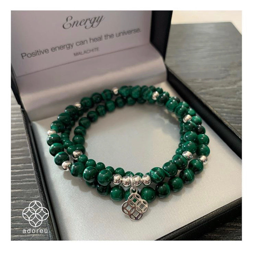 Swarovski Pearls - Jade adoreu with Crystal