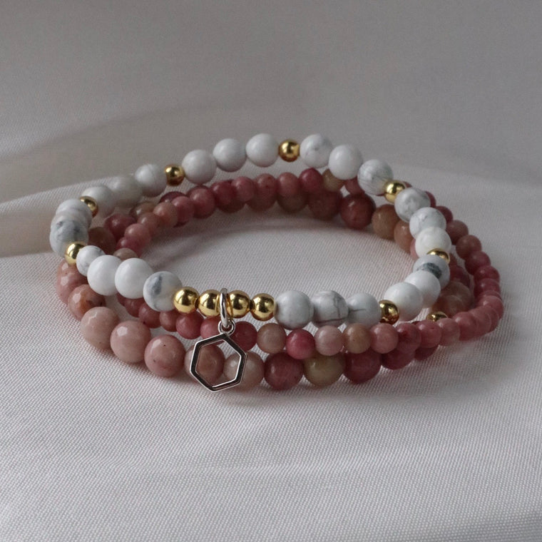 Cherish - Gold Stack Bracelet