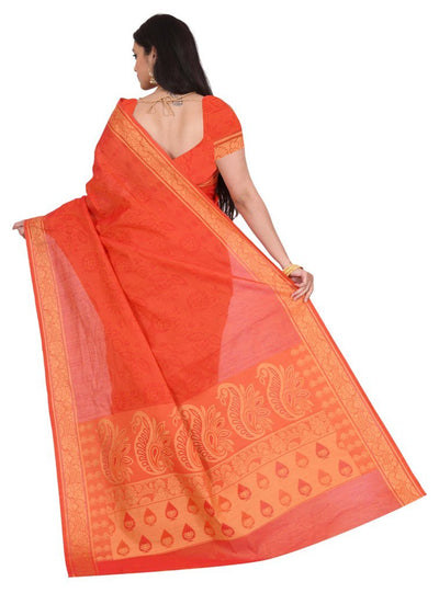 coimbatore Cotton Saree - Red