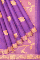 Coimbatore Cotton Butta Saree - Magenta