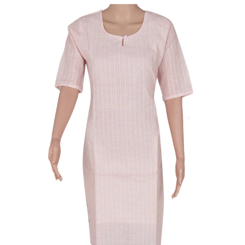 Cotton Kurta Light Pink