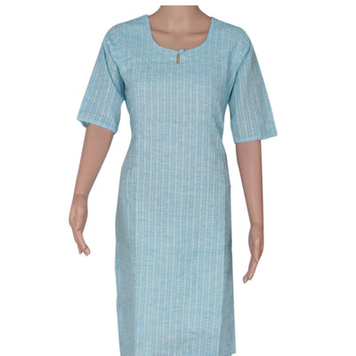 Cotton Kurta Sky Blue