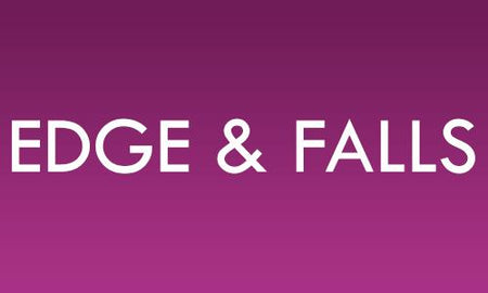 Saree edge & Fall