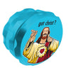 Jay and Silent Bob Buddy Christ Grinder Aqua Ireland
