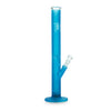 Black Leaf Glass Bong Ice LED-Light neon Blue