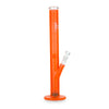 Black Leaf Glass Bong Ice LED-Light neon Orange