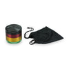Rasta Pocket Grinder + carrier bag