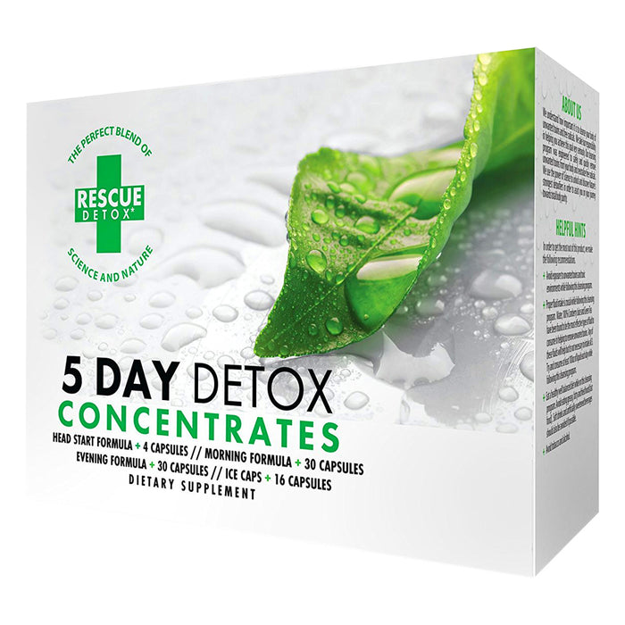 Rescue Detox Permanent Detox 5 Day