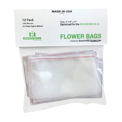 Rosinbomb M50 Flower Bag Front Ireland