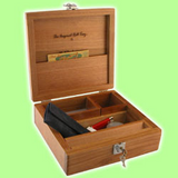 The Original Roll Tray T2L - Deluxe Golden Maplewood
