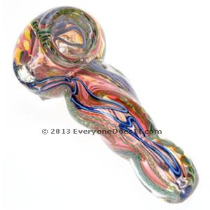 Heavy Glass Spoon Pipe