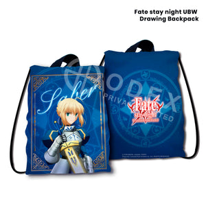 Fate stay night UBW Drawing Backpack