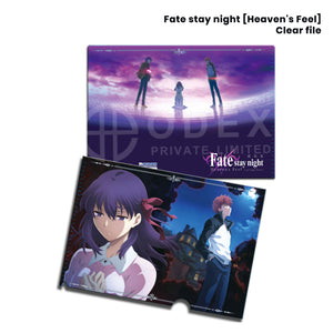 Fate stay night [Heaven's Feel] Clear File