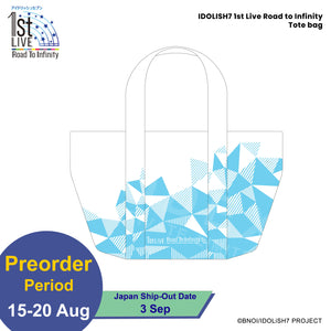 IDOLiSH7 1st Live Road to Infinity Tote bag