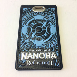 Nanoha Reflection: Pass Case (formula light blue)