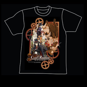 Code: Realize ~Guardian of Rebirth~ - Black T shirt