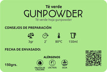 TÉ VERDE GUNPOWDER - Café Central