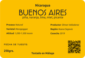 NICARAGUA - BUENOS AIRES