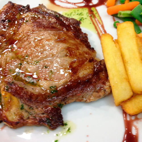 VEAL FILLET WITH FRENCH FRIED