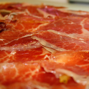 TABLE OF 100% IBERIAN HAM