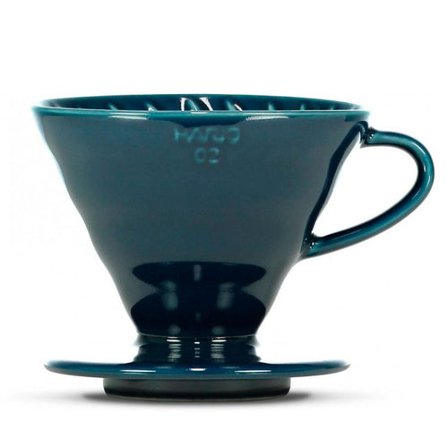 V60 02 CERAMIC DRIPPER BLUE INDIGO