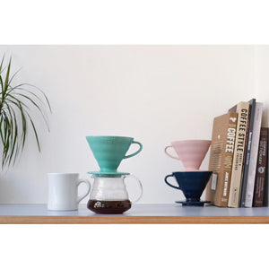 V60 02 CERAMIC DRIPPER TURQUESA - Café Central