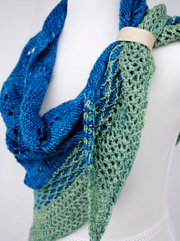 Be Anything Shawl with Cork Cuff